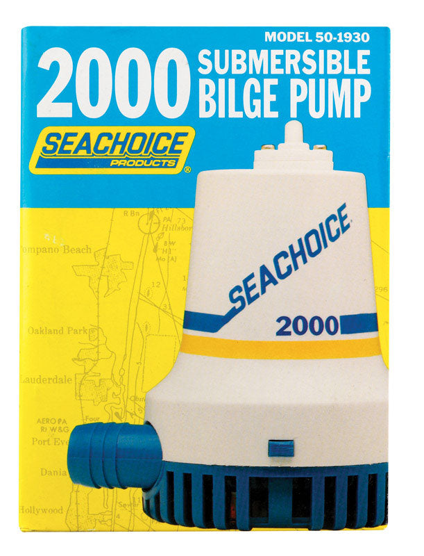 PUMP BILGE-2000 GPH | OP NOTES OM: 1; (NO SPECIAL NOTES)