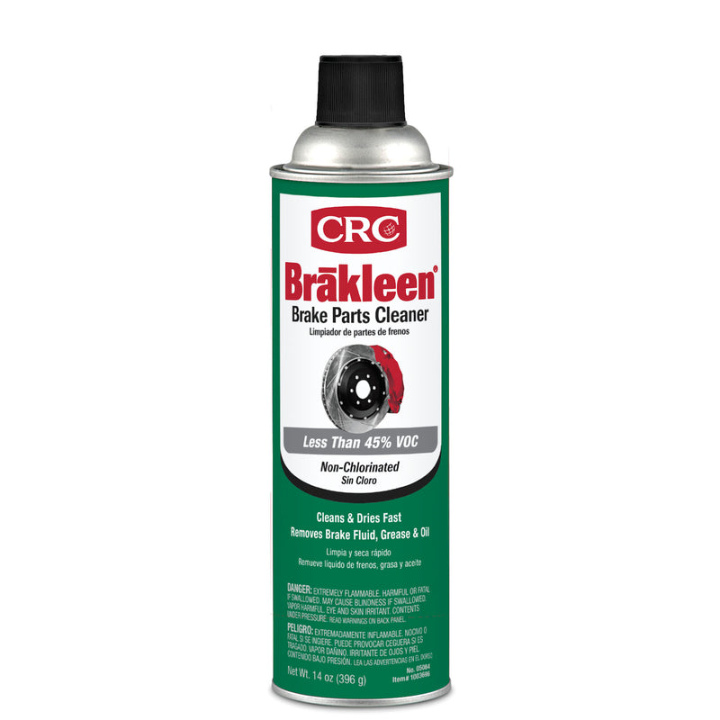 BRAKE PARTS CLEANER 14OZ | OP NOTES OM: 1; (NO SPECIAL NOTES)