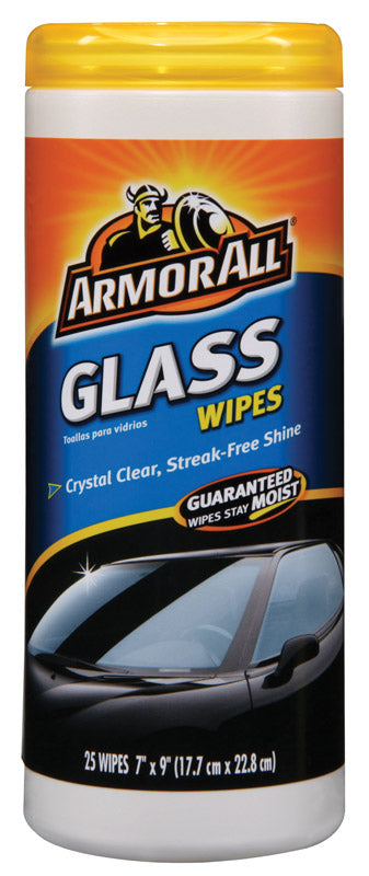 GLASS WIPES ARMOR ALL | OP NOTES OM: 1; AN2 QPP: 25; AN3 TOTAL: 25 (NO SPECIAL NOTES)