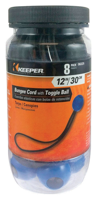 BUNGEE CORD W/BALL 8 PK | OP NOTES OM: 1; AN2 QPP: 1; (NO SPECIAL NOTES)