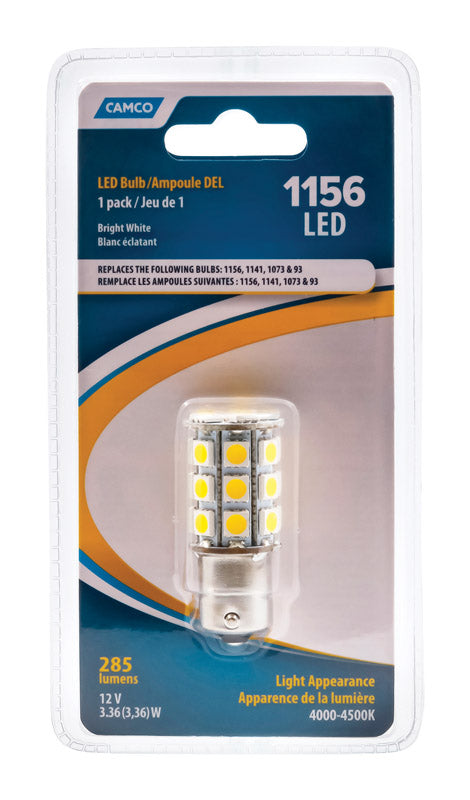 RV BULB LED 1156 | OP NOTES OM: 1; AN2 QPP: 1; (NO SPECIAL NOTES)