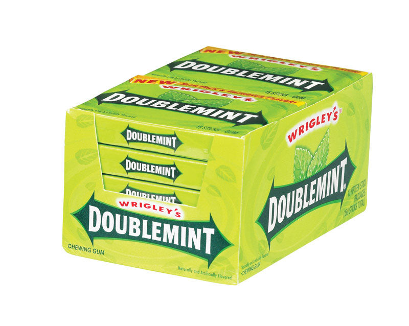 GUM DOUBLEMINT PK15 | OP NOTES OM: 10; AN2 QPP: 15; AN3 TOTAL: 150 (NO SPECIAL NOTES)