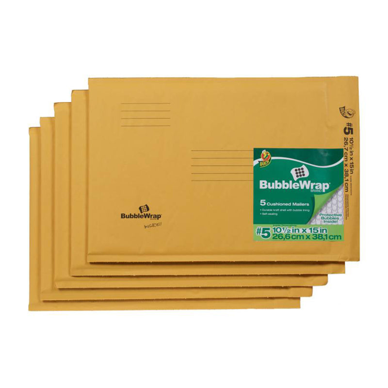 ENVELOPE PAD 10.5X15 PK5 | OP NOTES OM: 1; AN2 QPP: 5; AN3 TOTAL: 5 (NO SPECIAL NOTES)