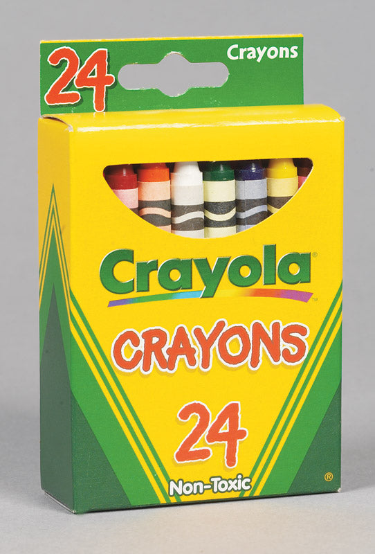 CRAYON CRAYOLA 24 COUNT | OP NOTES OM: 1; AN2 QPP: 24; AN3 TOTAL: 24 (NO SPECIAL NOTES)