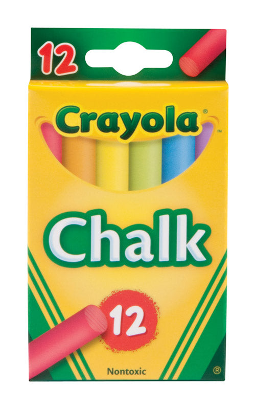 CHALK COLORED 12 STICKS | OP NOTES OM: 1; AN2 QPP: 12; AN3 TOTAL: 12 (NO SPECIAL NOTES)