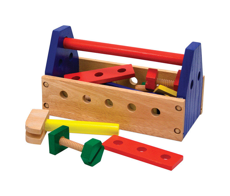 TOY TOOL KIT WOOD 24PC | OP NOTES OM: 1; AN2 QPP: 24; AN3 TOTAL: 24 (NO SPECIAL NOTES)