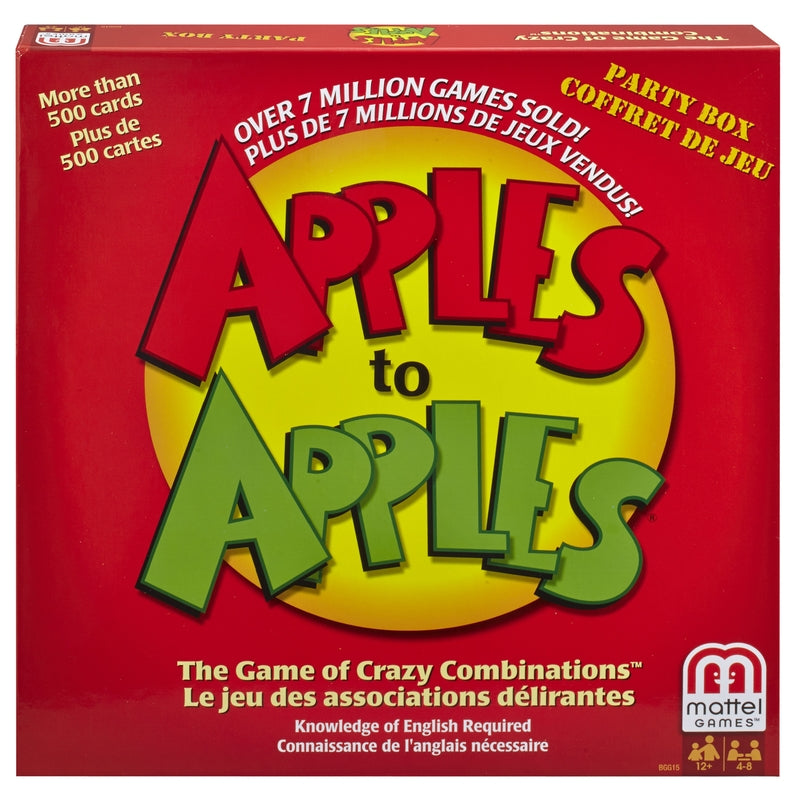 APPLES TO APPLES GAME | OP NOTES OM: 1; AN2 QPP: 1; (NO SPECIAL NOTES)