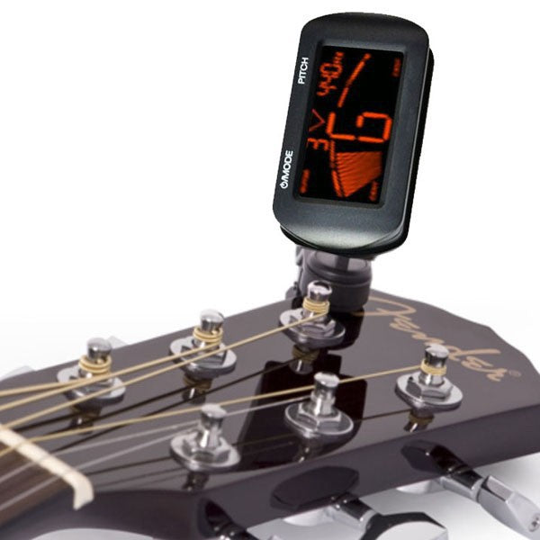 SEWS Hot Sell Electric Acoustic Guitar Tuner Digital LCD Clip-On Chromatic  Guitar Bass Ukulele Violin Tuner - Fast Tuning