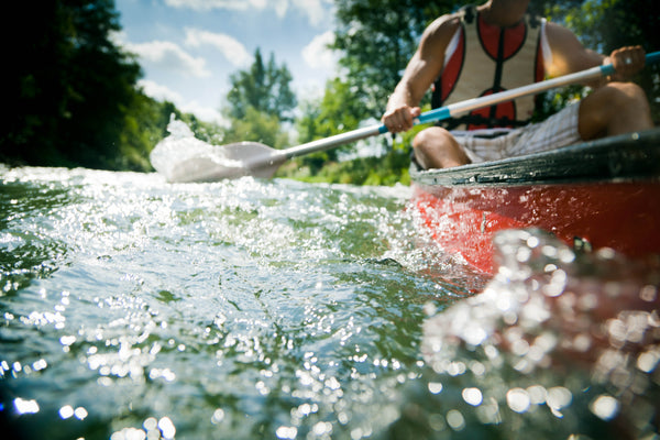 Huron River, Rapids, canoeing, michigan, paddling, kayaking, michigan, overboard