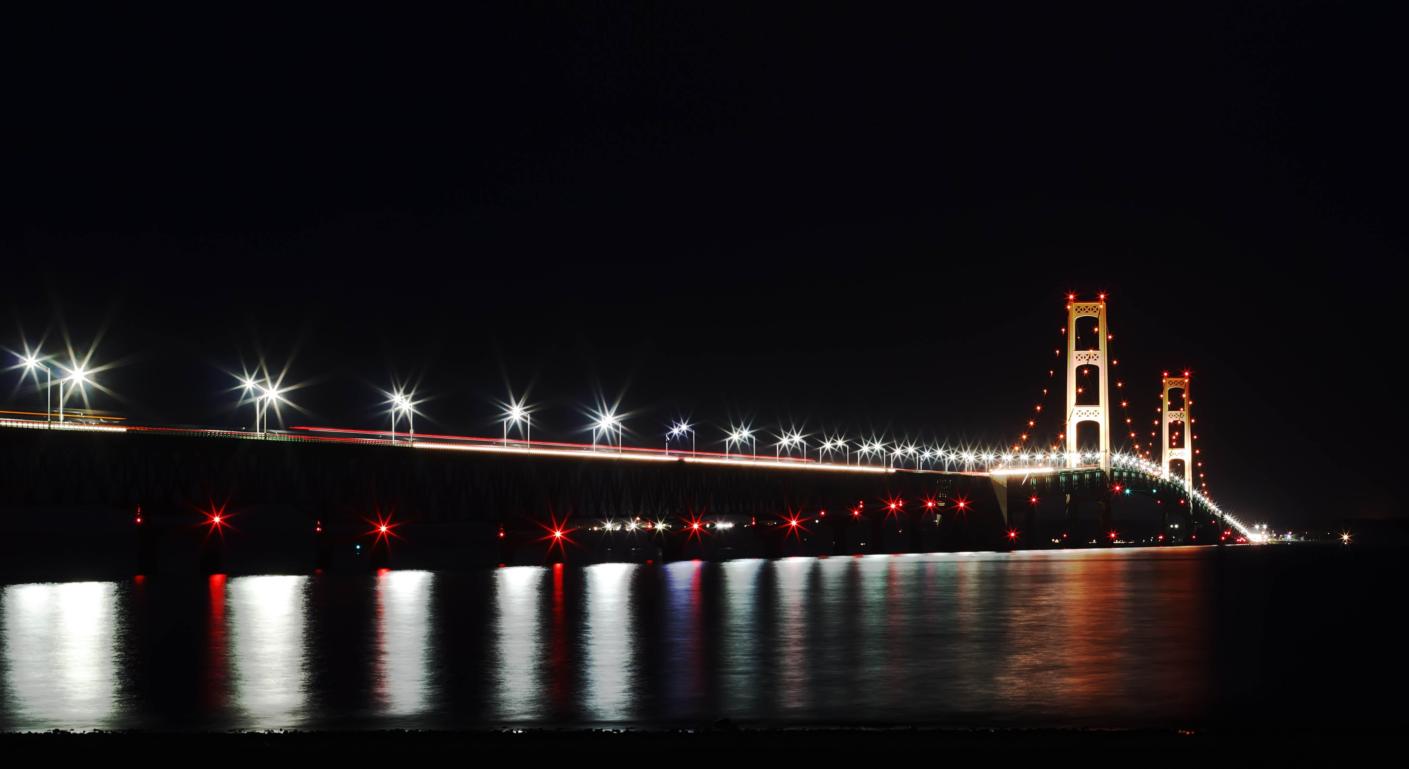 mackinac bridge, enbridge, line 5, straits of mackinac, mackinaw