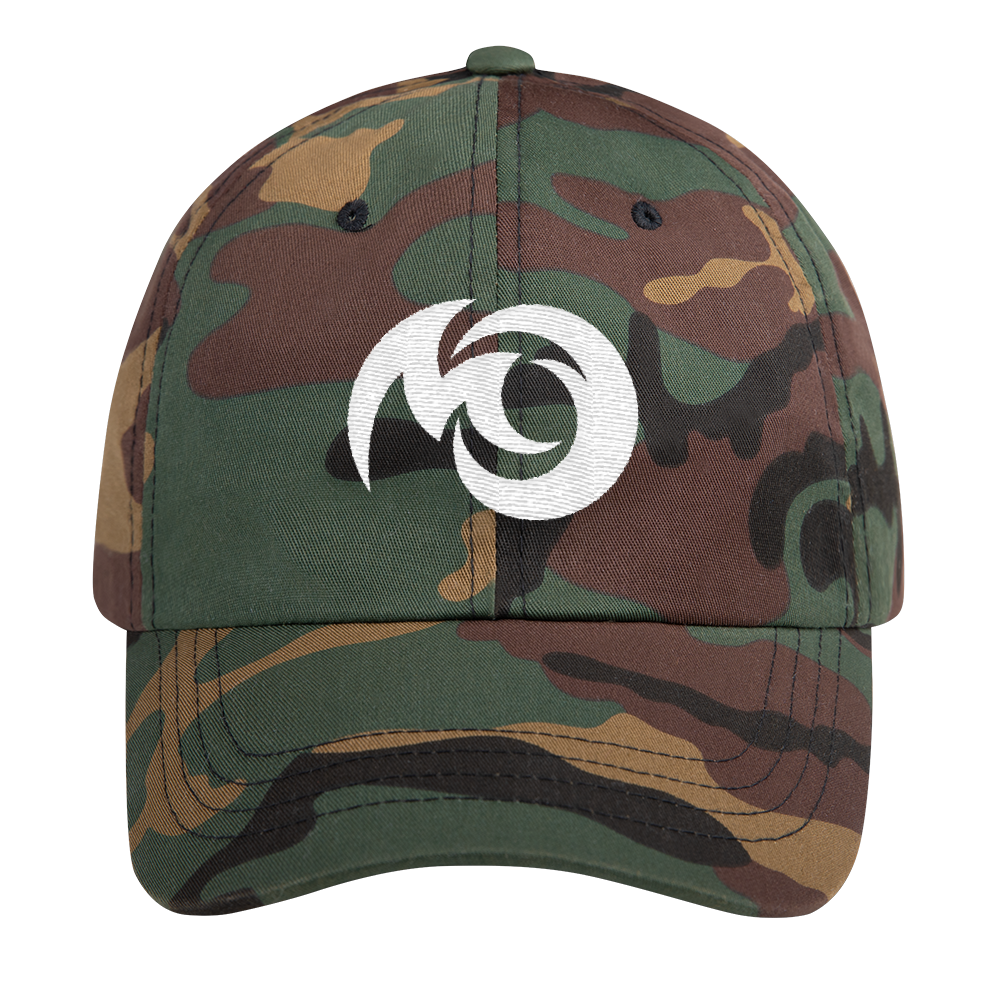 Michigan Overboard dad hat. A retro, cool looking hat. A perfect accessory item for exploring or relaxing on the Michiganders boat or beach. Camo Michigan hat!