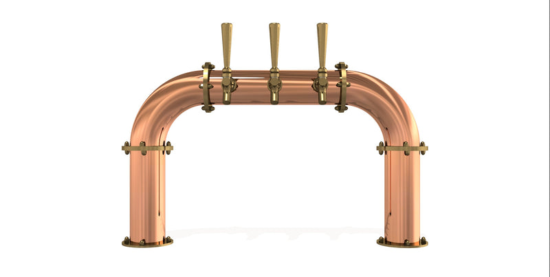 "fm-draft-towers - Arcadia Bridge 3"" - Copper -  - Retail"