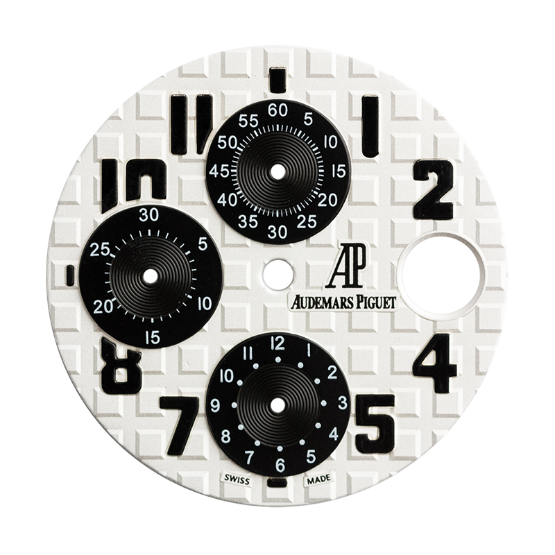 Audemars Piguet Parts Audemars Piguet Royal Oak Offshore 42mm White/Black Custom Dial