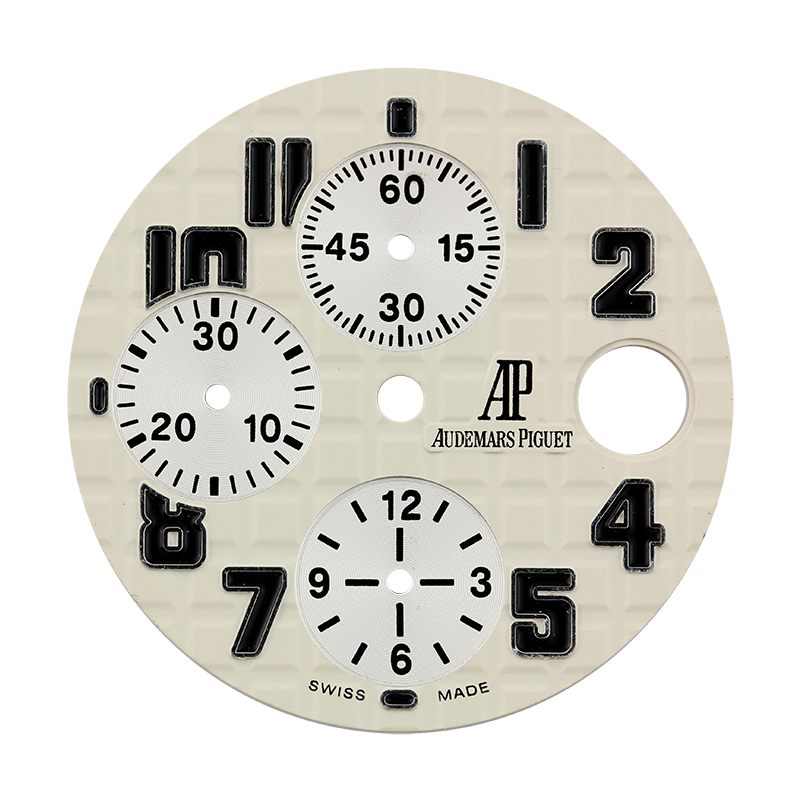 Audemars Piguet Parts Audemars Piguet Royal Oak Offshore 42mm White Méga Tapisserie Pattern Custom Dial