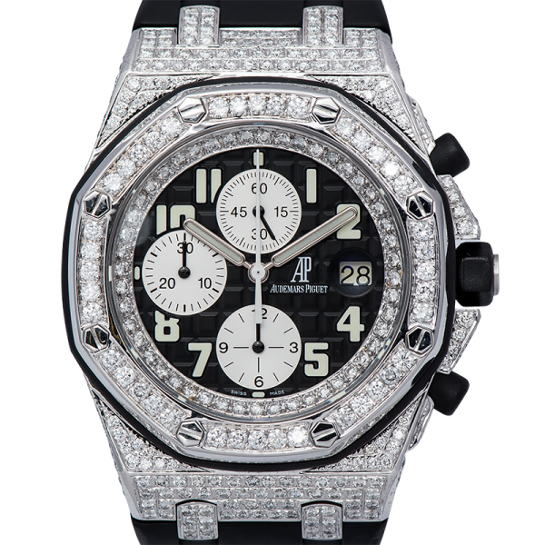Audemars Piguet Watch Audemars Piguet Royal Oak Offshore 42mm Diamond-Set Custom Watch 25940SK.OO.D002CA.01