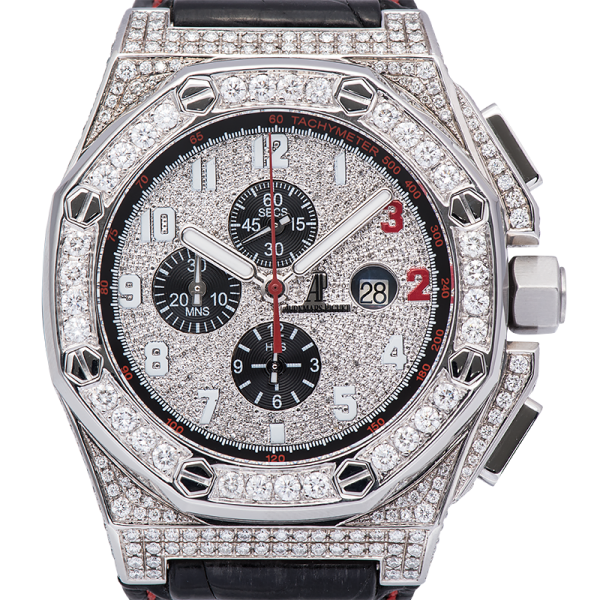 Audemars Piguet Watch Audemars Piguet Royal Oak Offshore 48mm Shaquille O'Neal Diamond Set 26133ST.OO.A101CR.01