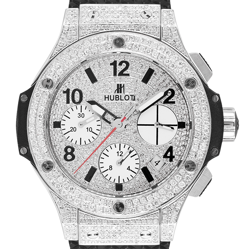 Hublot Watch Hublot Big Bang 41mm Custom Diamond Set 342.SB.131.RX