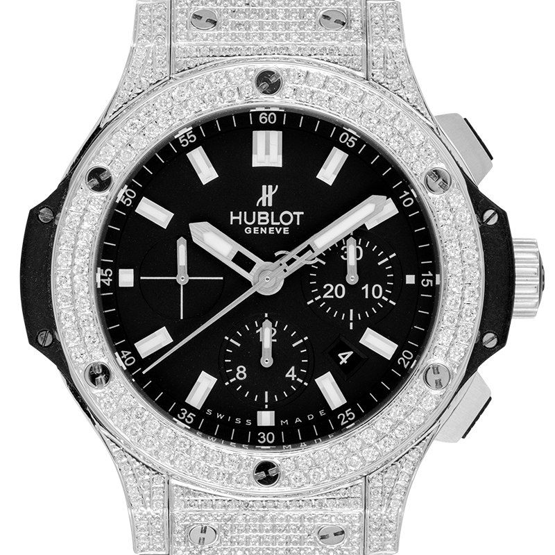 Hublot Watch Hublot Big Bang Evolution 44mm Diamond Set 301.SX.1170.RX