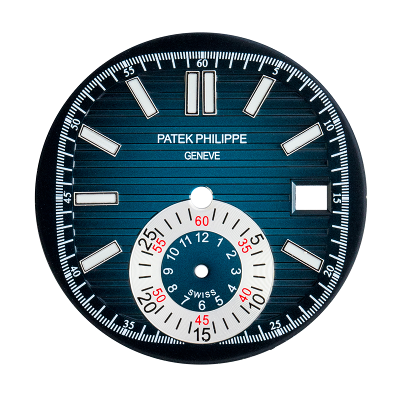 T4DUK Parts Patek Philippe 5980 Custom Blue Dial