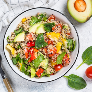 Quinoa Salad with a Chilli Vinaigrette