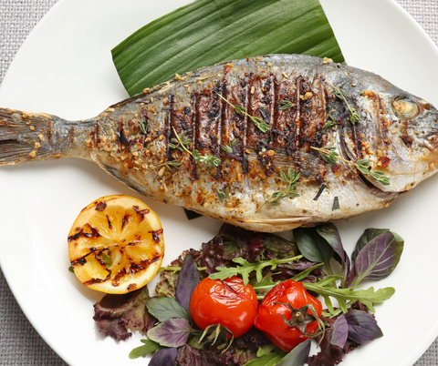Pili-Pili Fried Sea Bream