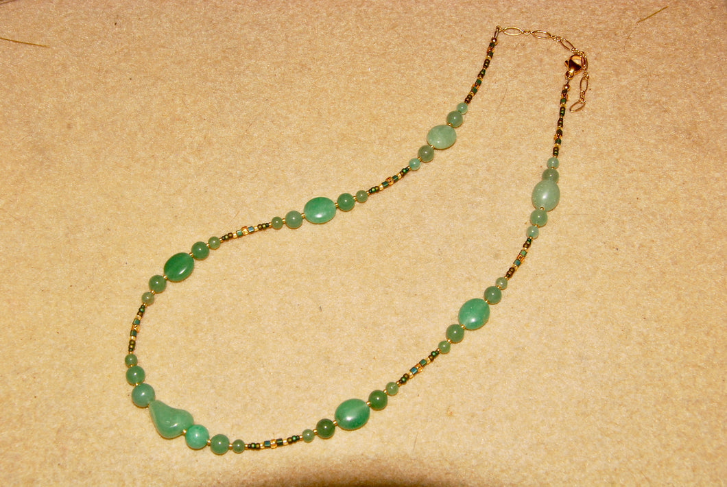 Aventurilne Necklace - N4013
