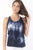 RIO GYM Beatriz Tank - Midnight Blue yoga wear for women