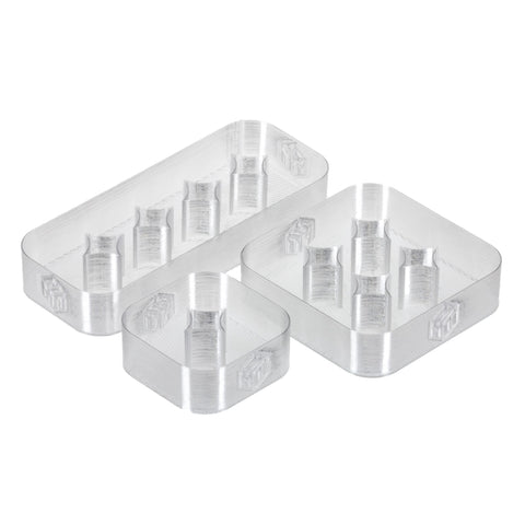 33mm Bottle Trays - Fits 30mL Boston Round - Make My Tray