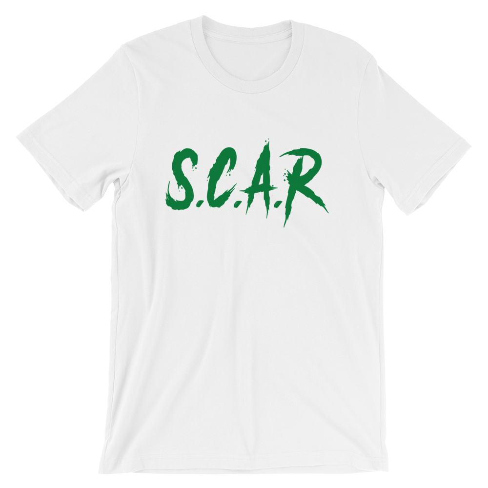 S.C.A.R T-Shirt - White/Green