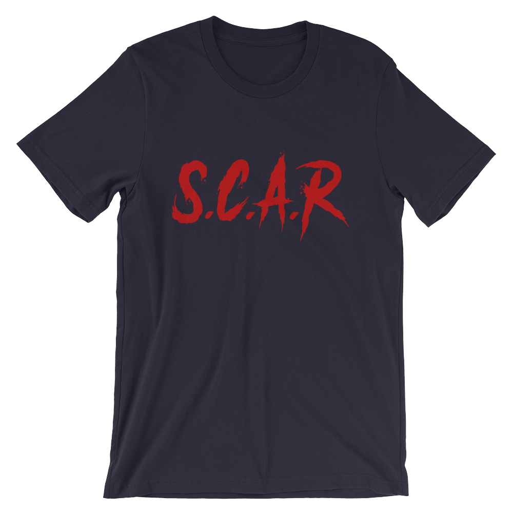 S.C.A.R T-Shirt - Navy/Red