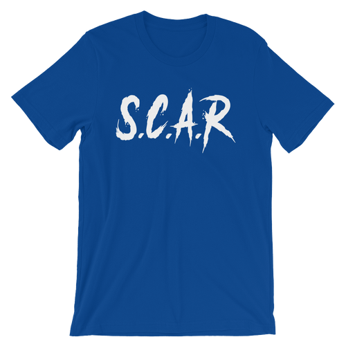S.C.A.R T-Shirt - Royal/White