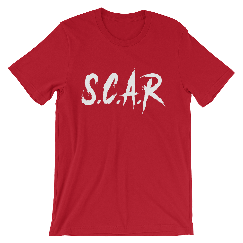 S.C.A.R T-Shirt - Red/White