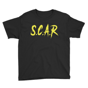 S.C.A.R Kids T-Shirt - Black/Yellow
