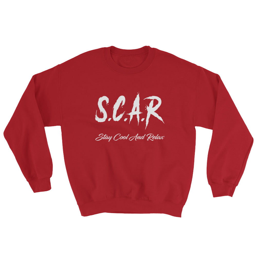 S.C.A.R Logo Sweatshirt - Red/White