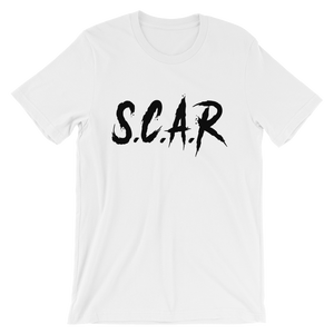 S.C.A.R T-Shirt - White/Black