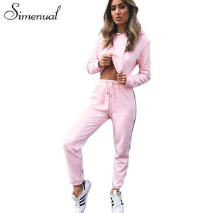 Side Striped Sport Suit