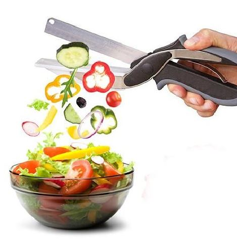 Multi-Purpose Genius Knife with Chopping Board