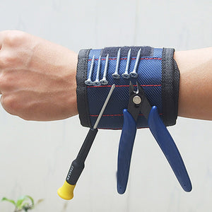 Magnetic Wristband Tools Holder for DIYers and Hobbyists