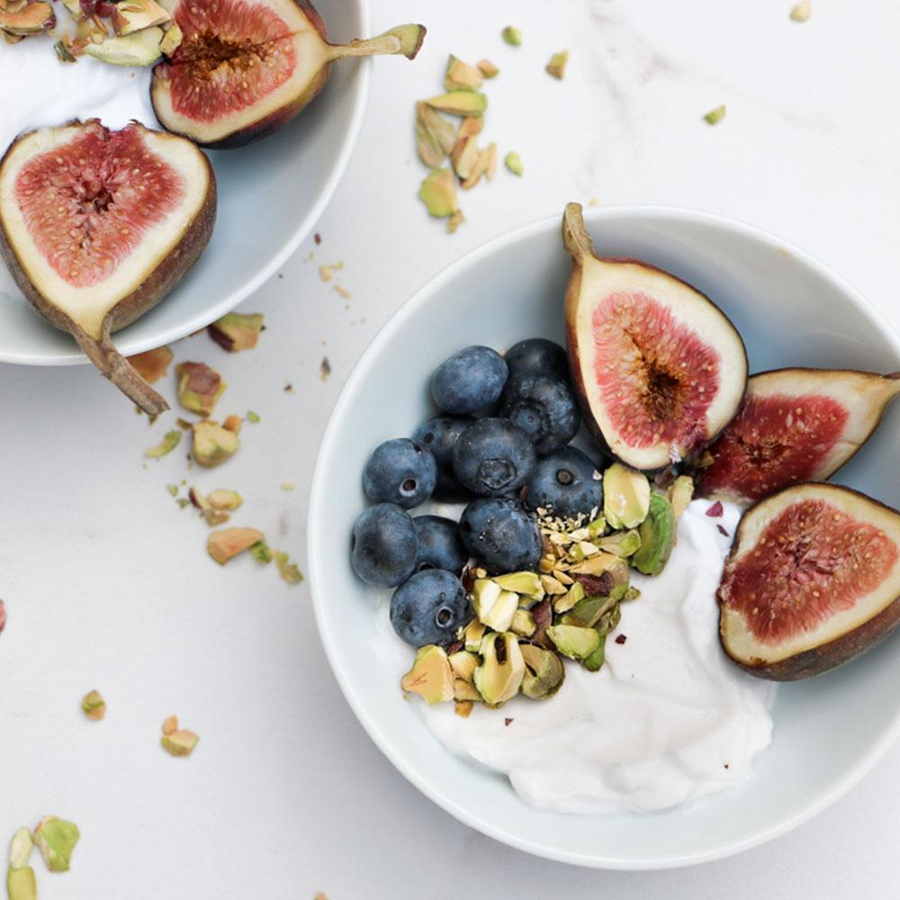 Fruit and Pistachio Coconut bowl