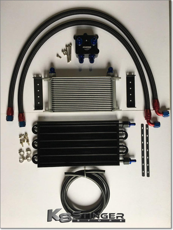 Kia Stinger 3.3T - Engine Oil Cooler Kit with Optional Secondary Radiator