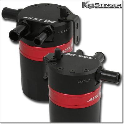 (NEW) ADD W1 V3.3 - Baffled Dual Inlet Oil Catch Can
