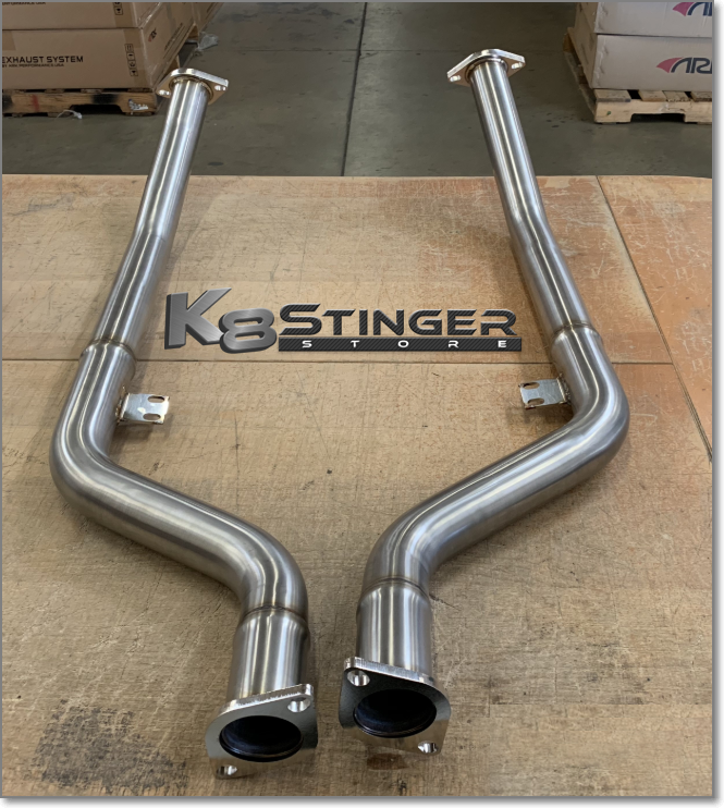 Kia Stinger Downpipes
