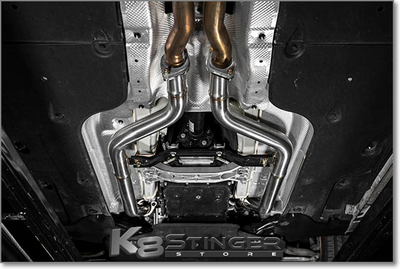 Kia Stinger GT - Ark Performance Secondary Downpipes