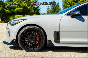 Kia Stinger Genuine OEM Carbon Fiber Fender Vents