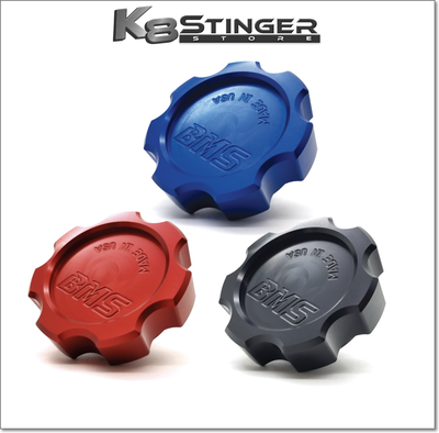 Kia Stinger - Burger Motorsports Billet Oil Filler Caps