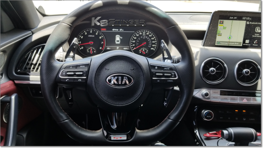 Kia Stinger Aluminum Paddle Shifter Extensions
