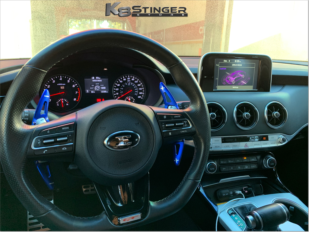 Kia Stinger paddle shifter extensions