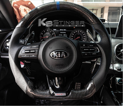Kia Stinger - Carbon Fiber Paddle Shifter Extensions