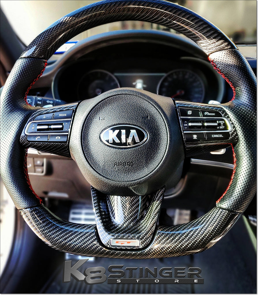 Kia Stinger Carbon Fiber Parts