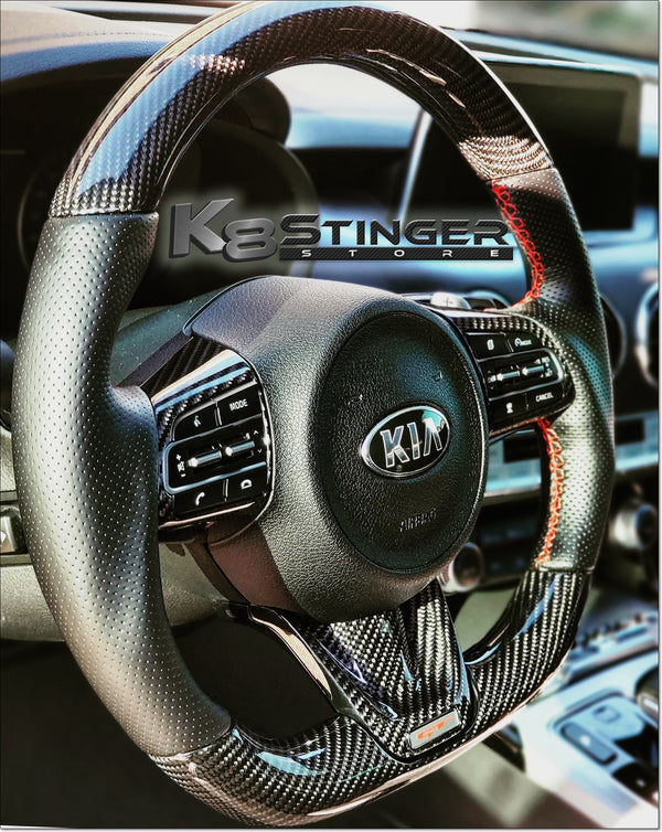 Kia Stinger - Element6 Carbon Fiber Steering Wheel